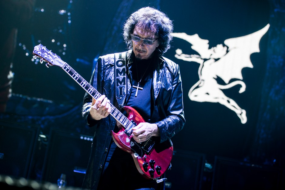 Black Sabbath – Mr. Iommi on guitar.