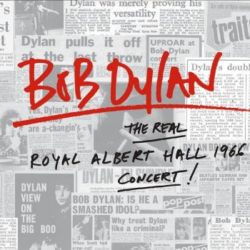 Bob Dylan - The Real Royal Albert Hall 1966 Concert Artwork