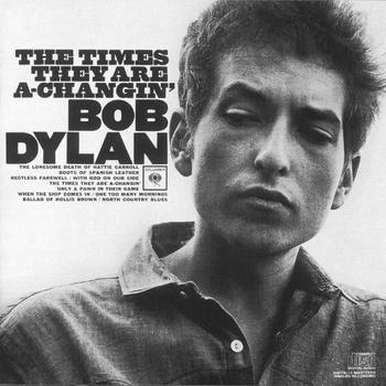 Bob Dylan - The Times They Are A-Changin' Artwork