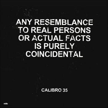 Calibro 35 - Any Resemblance To Real Persons ... Artwork
