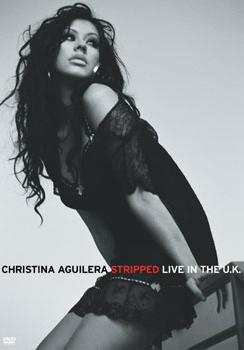 Christina Aguilera - Stripped: Live In The U.K. Artwork