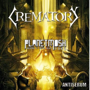 Crematory - Antiserum Artwork