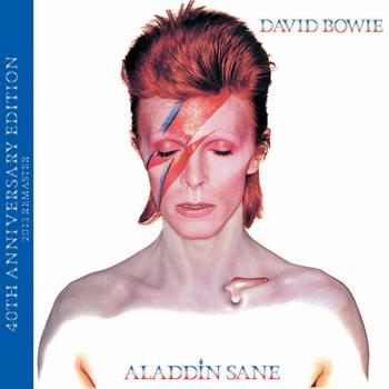 David Bowie - Aladdin Sane (40th Anniversary Edition) Artwork