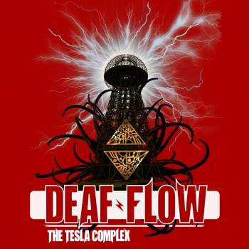 Deaf Flow - The Tesla Complex Artwork