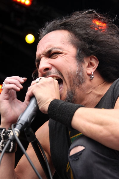 Death Angel – Thrash-Party galore auf dem BYH. – Mark Osegueda