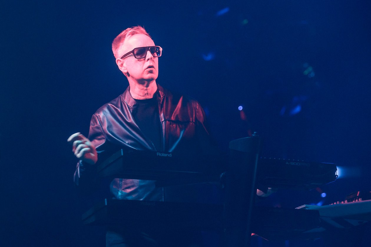 Depeche Mode – Keyboard-Statist Andy Fletcher