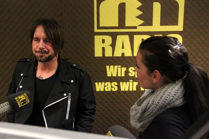 Der W. - Stephan Weidner & Moderatorin Alexandra Philipps