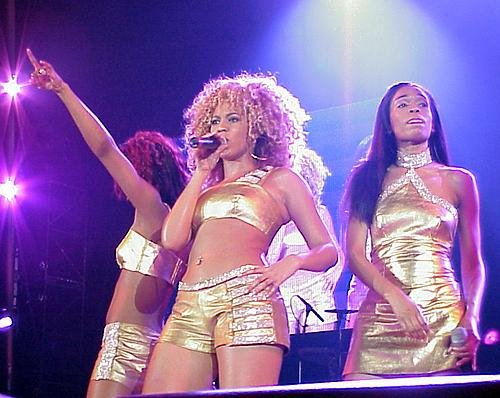 Destiny's Child – Live in Zürich 2002 – Band
