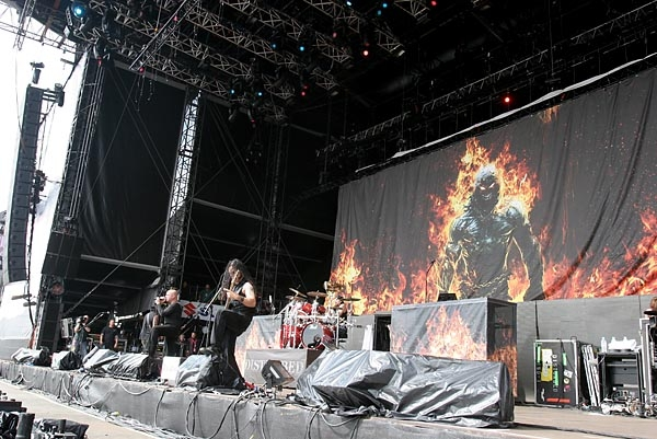 Disturbed live bei Rock am Ring (2008) –