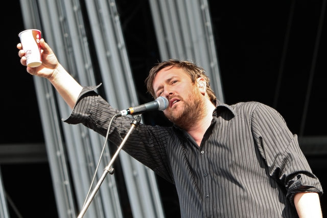 Elbow am Southside-Festival 2008. –