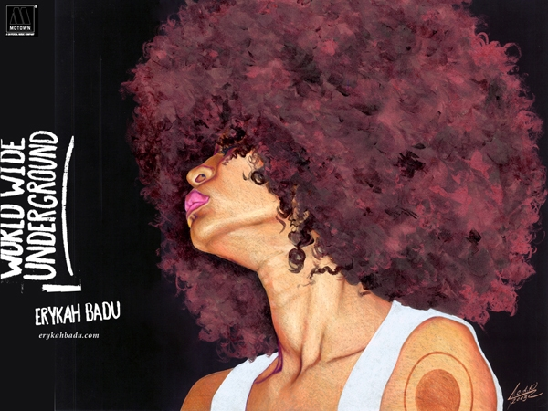 Erykah Badu – Promo-Shootings und Wallpapers. –