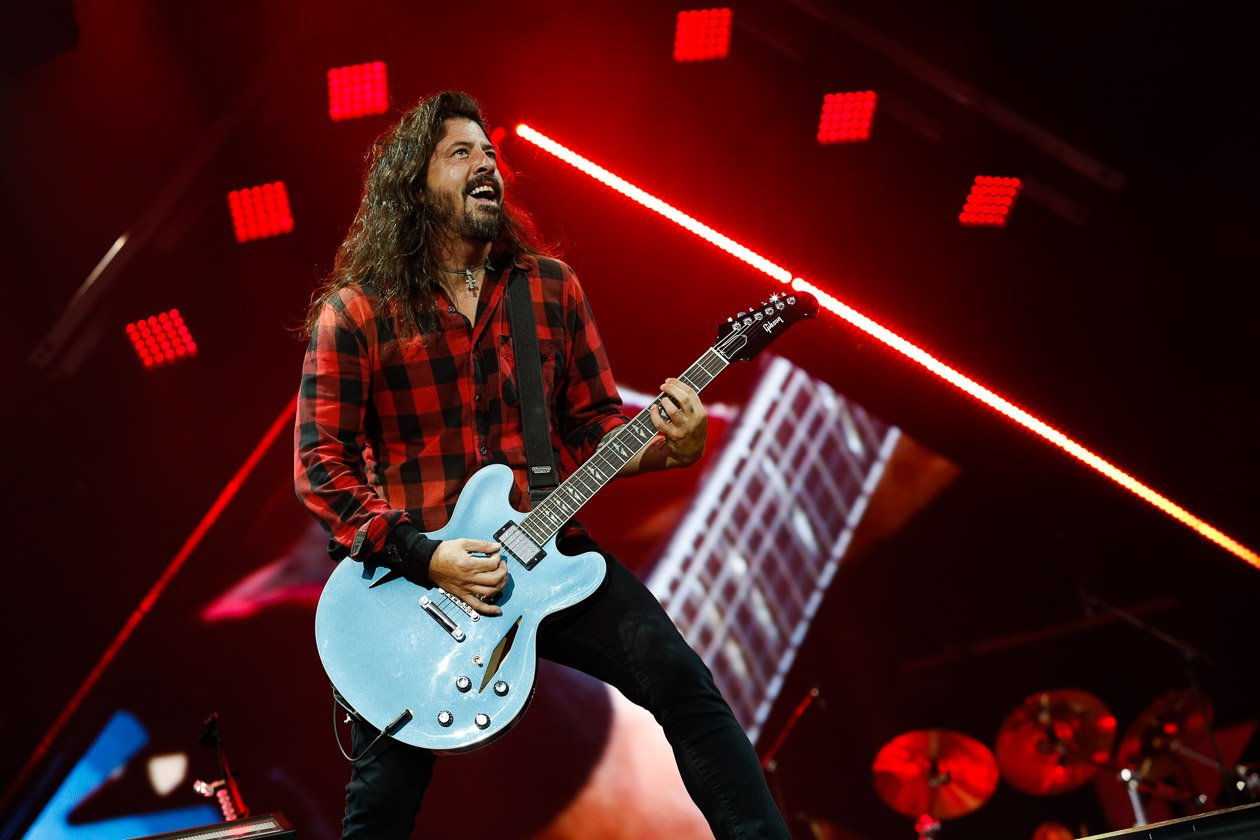 Headliner: Dave Grohl und Co. – Foo Fighters.