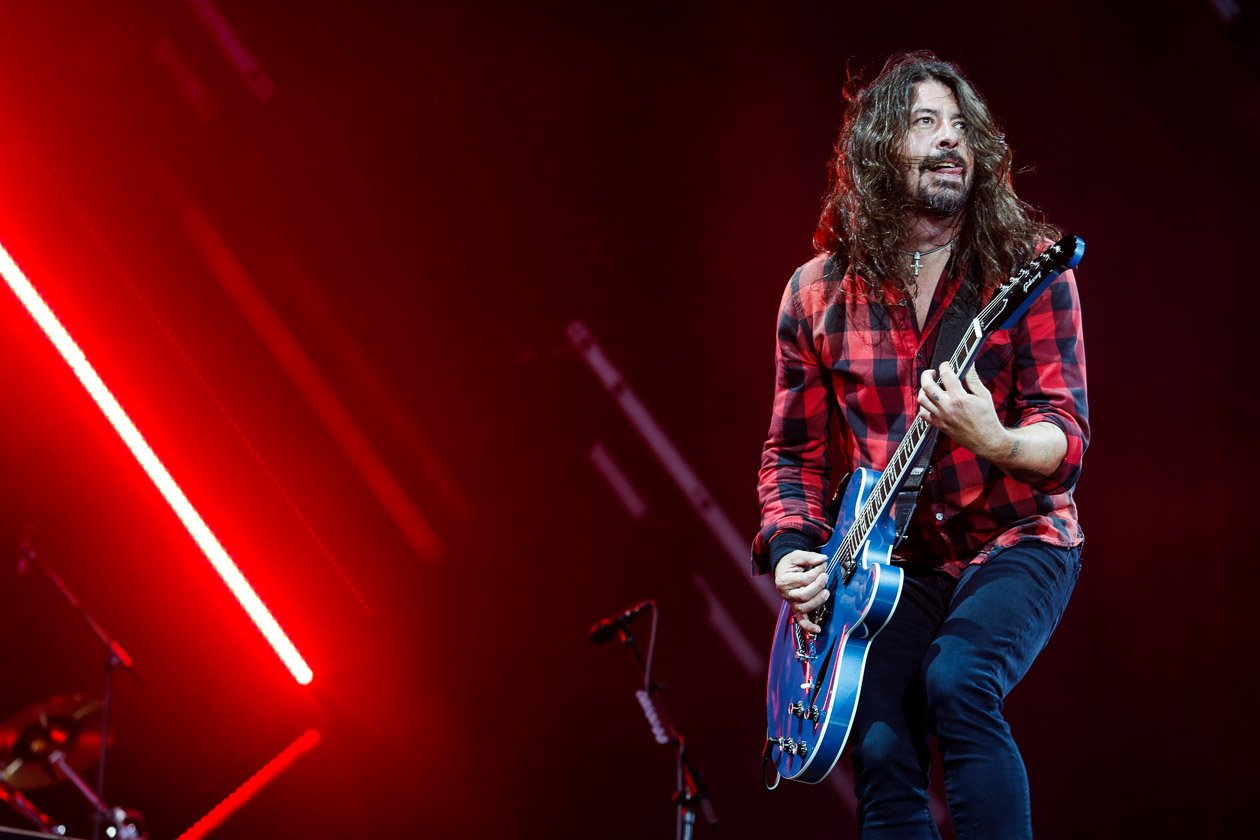 Foo Fighters – Headliner: Dave Grohl und Co. – Dave Grohl.