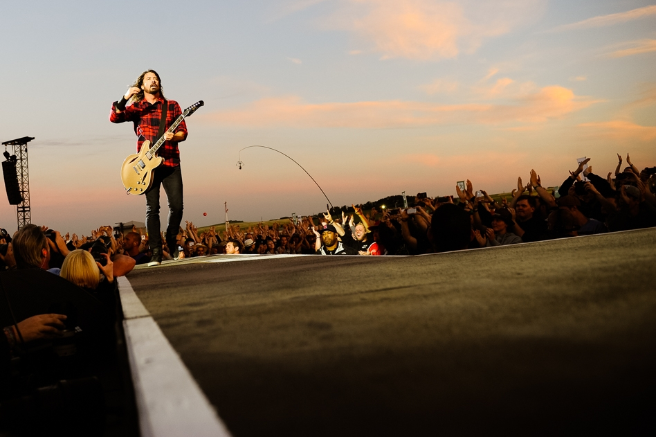 Foo Fighters – Eine Megarockshow von Dave Grohl und Co. – On the road.