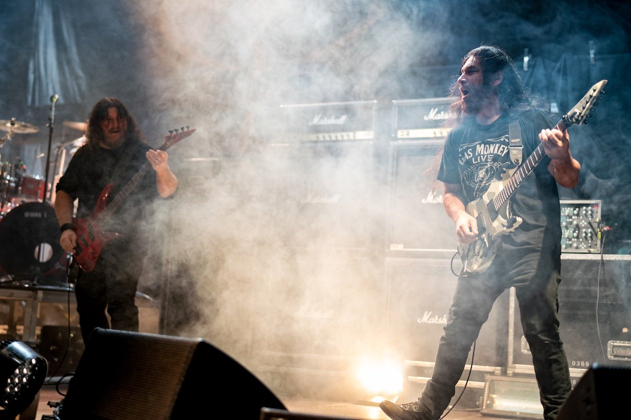 Auf Abschiedstour in Berlin mit Lamb Of God, Anthrax und Obituary. – Obituary.