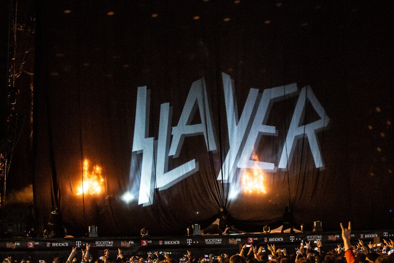 Tool, Die Ärzte, Slipknot, Slayer, Marteria & Casper u.v.a. stürmen den Ring. – Slayer.