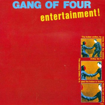 Gang Of Four - Entertainment! Artwork