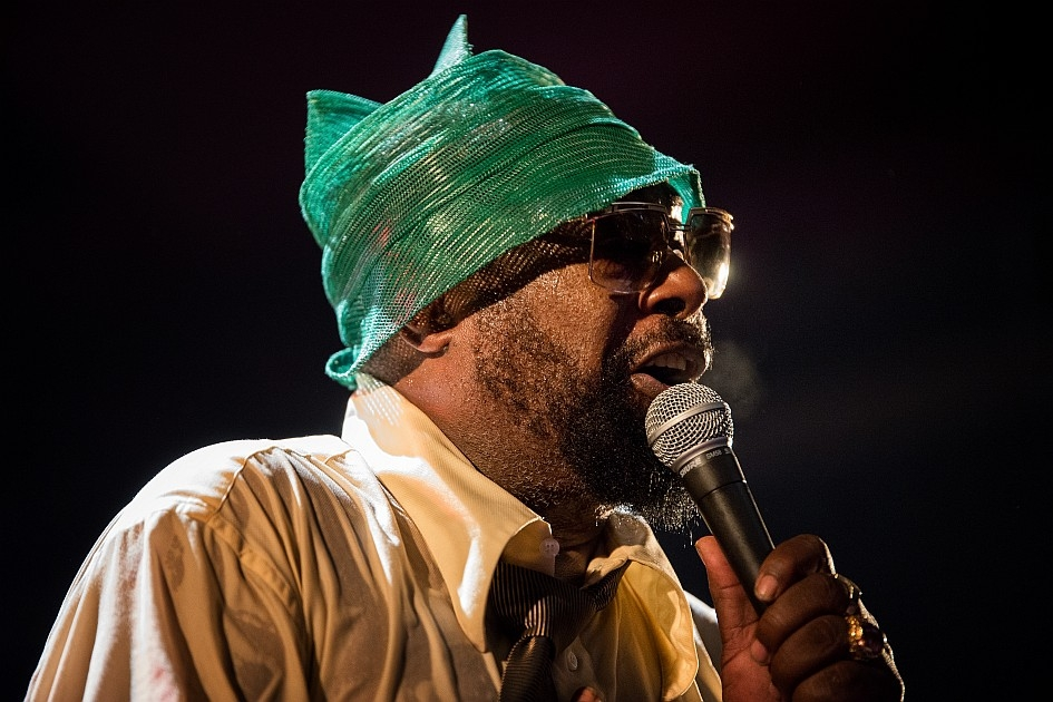 The Mothership has landed! – George Clinton.