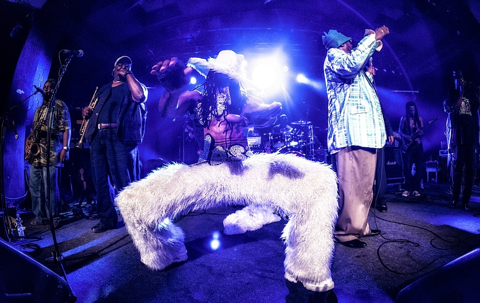 George Clinton – The Mothership has landed! – Große Begeisterung ...