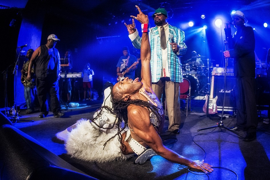 George Clinton – The Mothership has landed! – ... im Astra Kulturhaus.