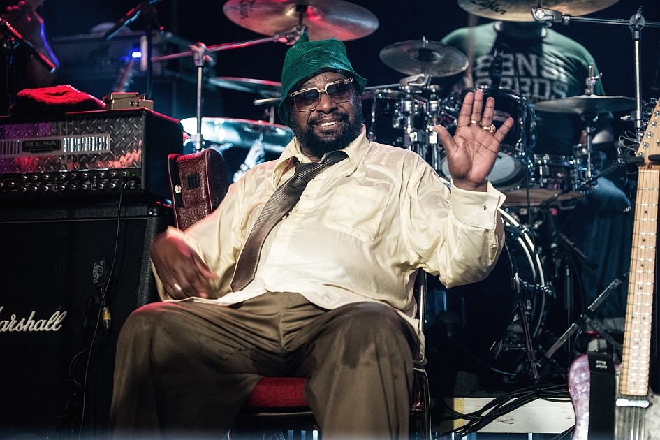 George Clinton – The Mothership has landed! – Der meistgesampelte Mann der Welt.