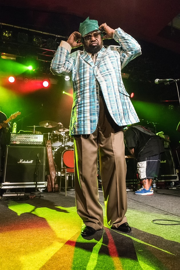 George Clinton – The Mothership has landed! – Mr. Clinton.