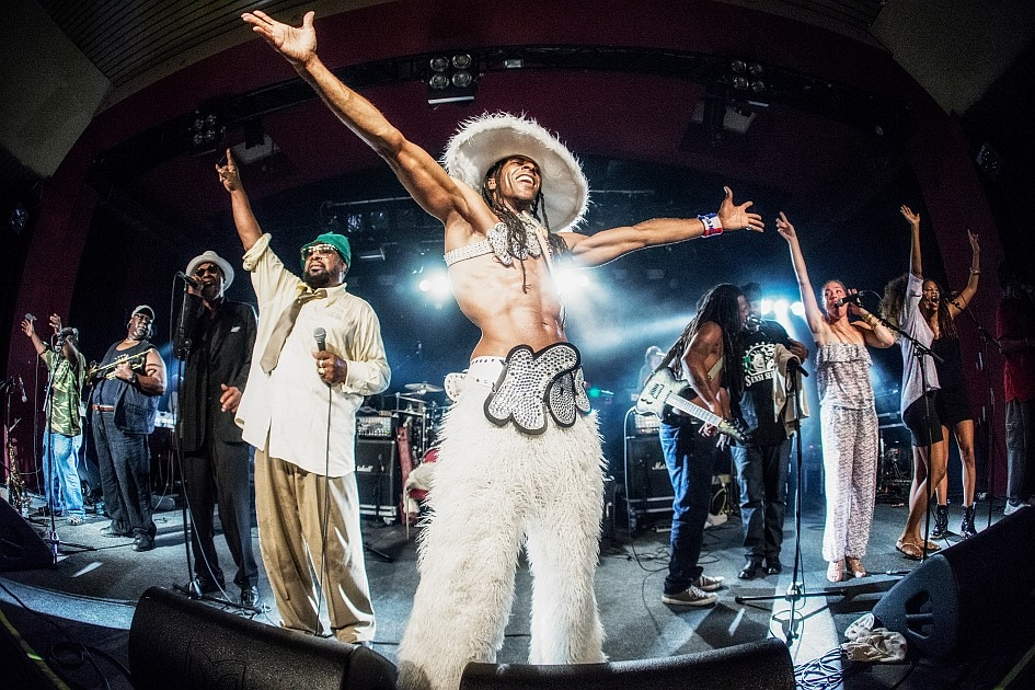 George Clinton – The Mothership has landed! – Party-Alarm im Astra.