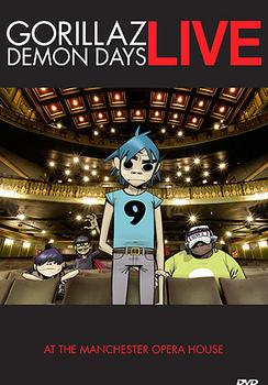 Gorillaz - Demon Days Live At The Manchester Opera House Artwork