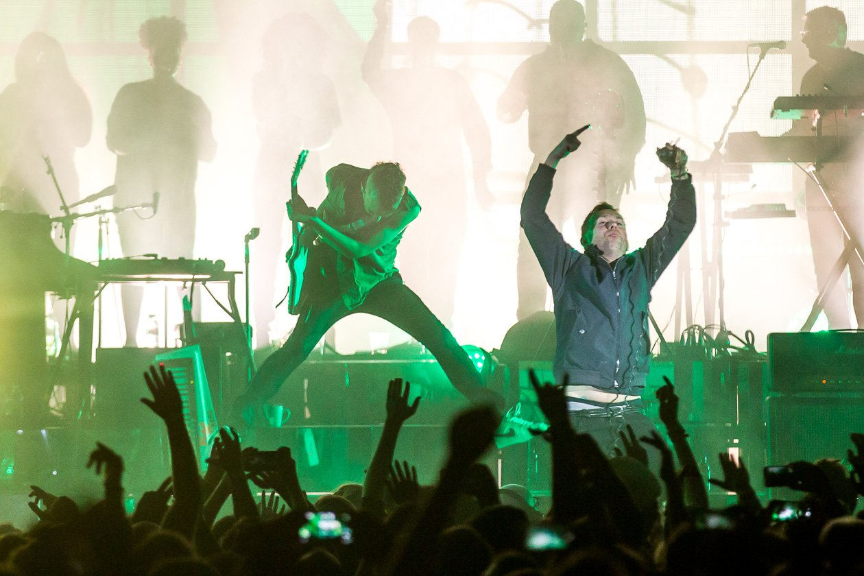 Gorillaz – Damon Albarn und Co. live in Deutschland. – Action!