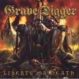 Grave Digger - Liberty Or Death Artwork
