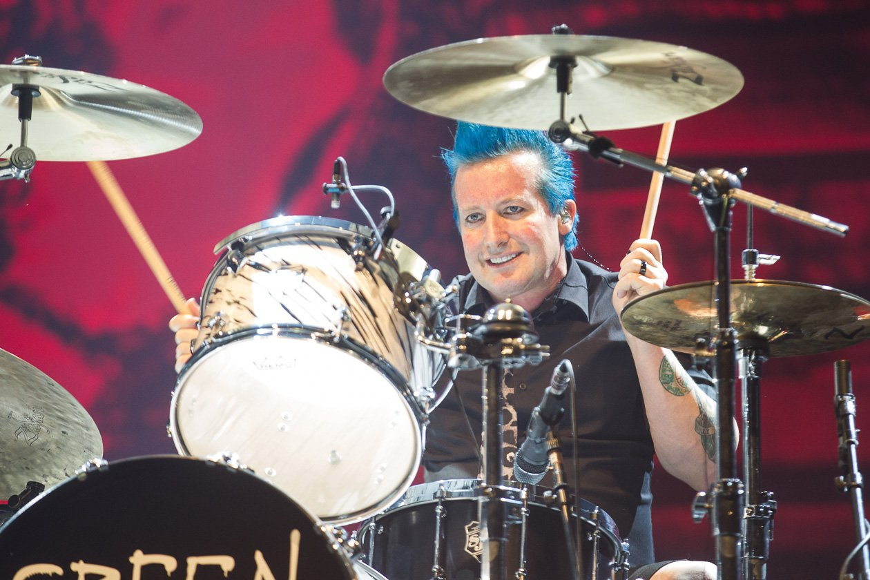 Green Day – Tré Cool.