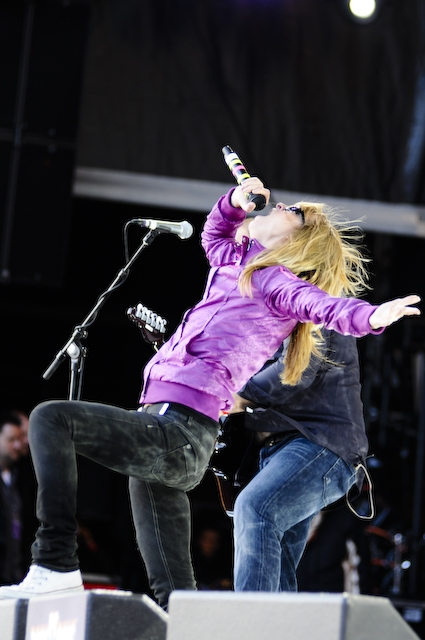 Comeback am Nürburgring. – Guano Apes bei Rock am Ring 2009