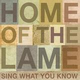 Home Of The Lame - Sing What You Know