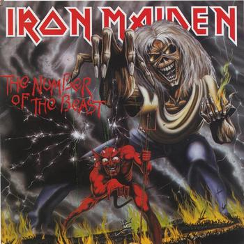Iron Maiden - The Number Of The Beast Artwork