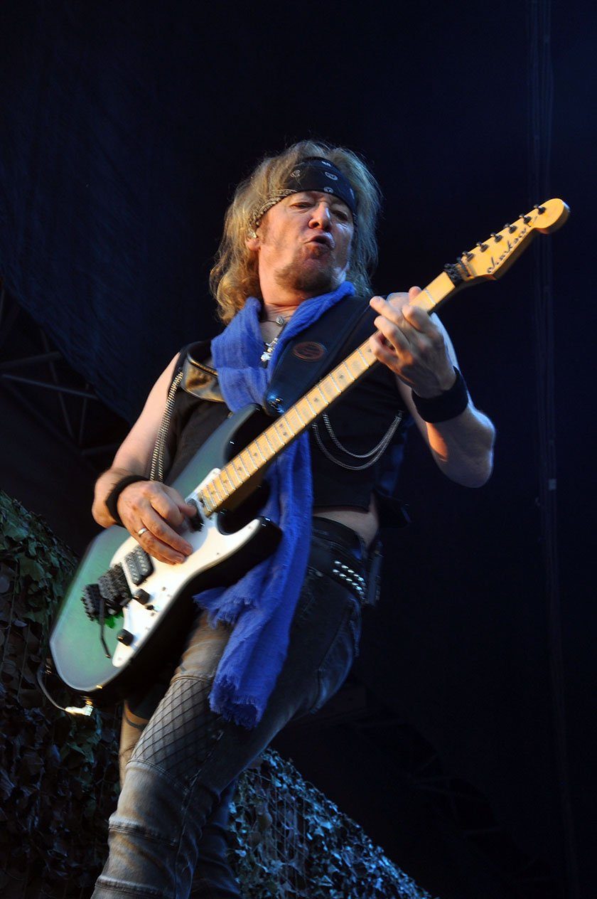 Iron Maiden – Adrian Smith.