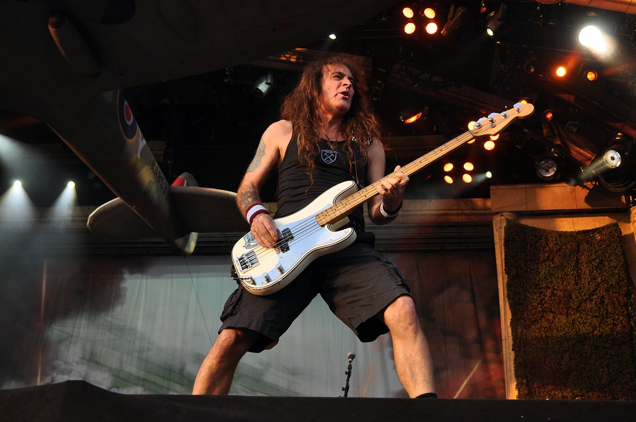 Iron Maiden – Steve Harris.