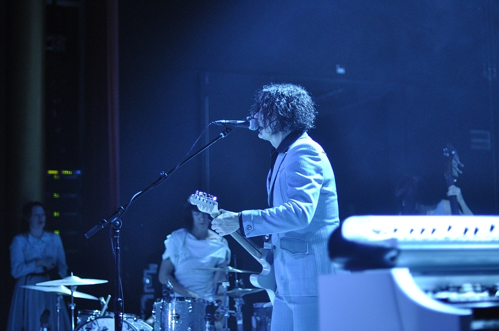 Jack White – Jack White mit The Peacocks im X-tra.