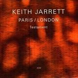Keith Jarrett - Paris / London - Testament Artwork