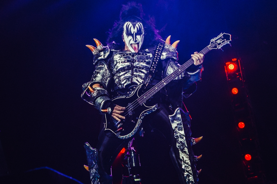 Kiss – Gene Simmons.
