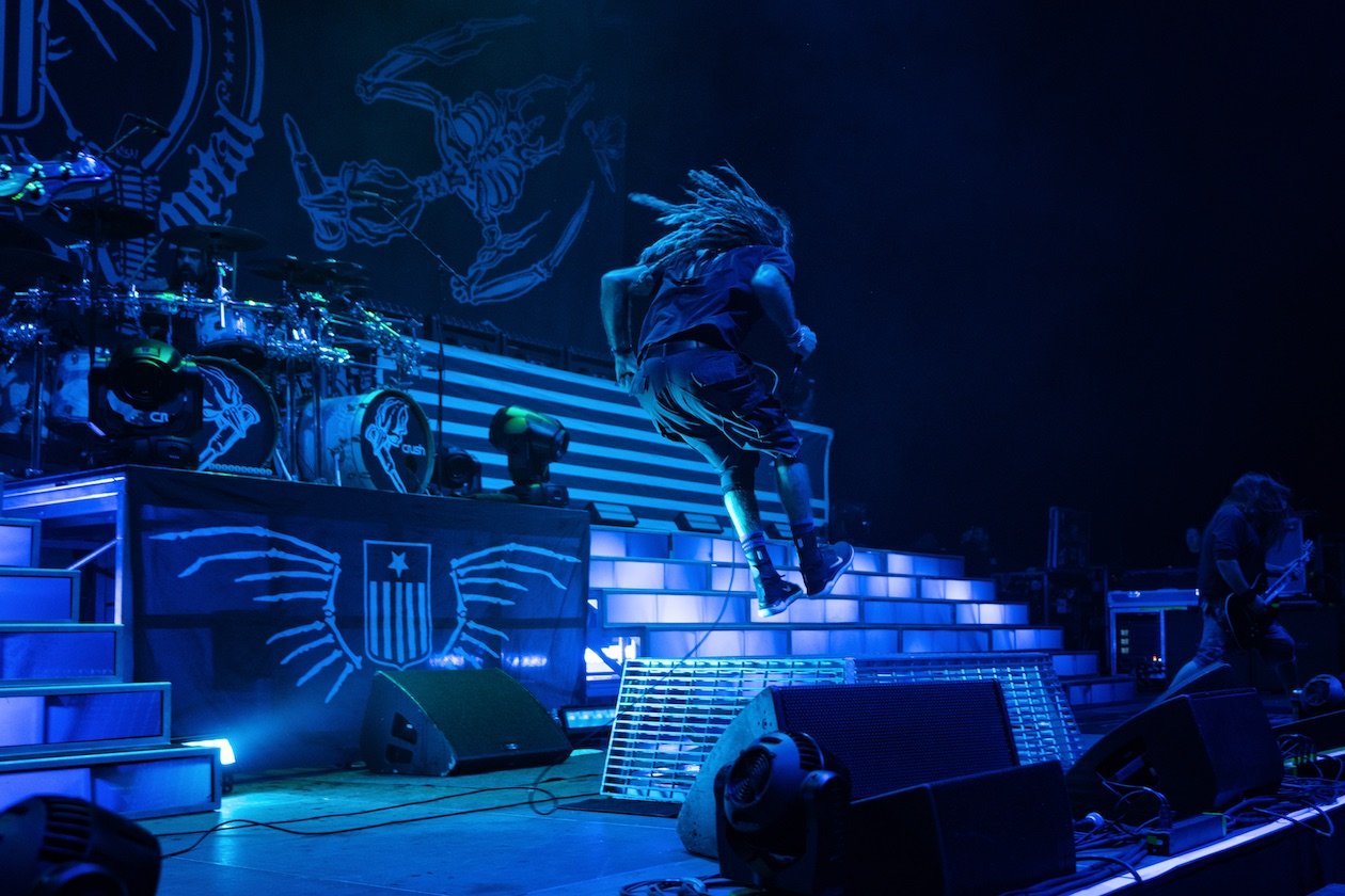 Support auf Slayers Farewell-Tour. – Lamb Of God.