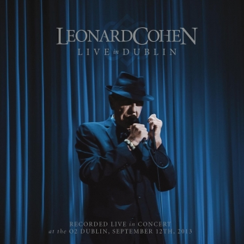 Leonard Cohen - Live In Dublin Artwork