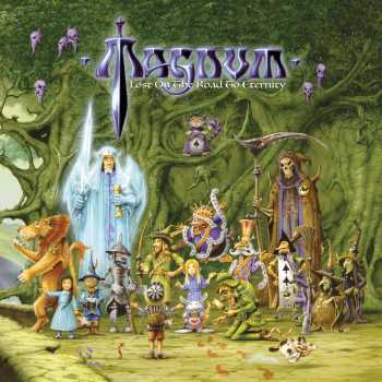 Magnum - Lost On The Road To Eternity Artwork