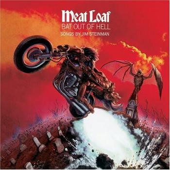 Meat Loaf - Bat Out Of Hell Artwork