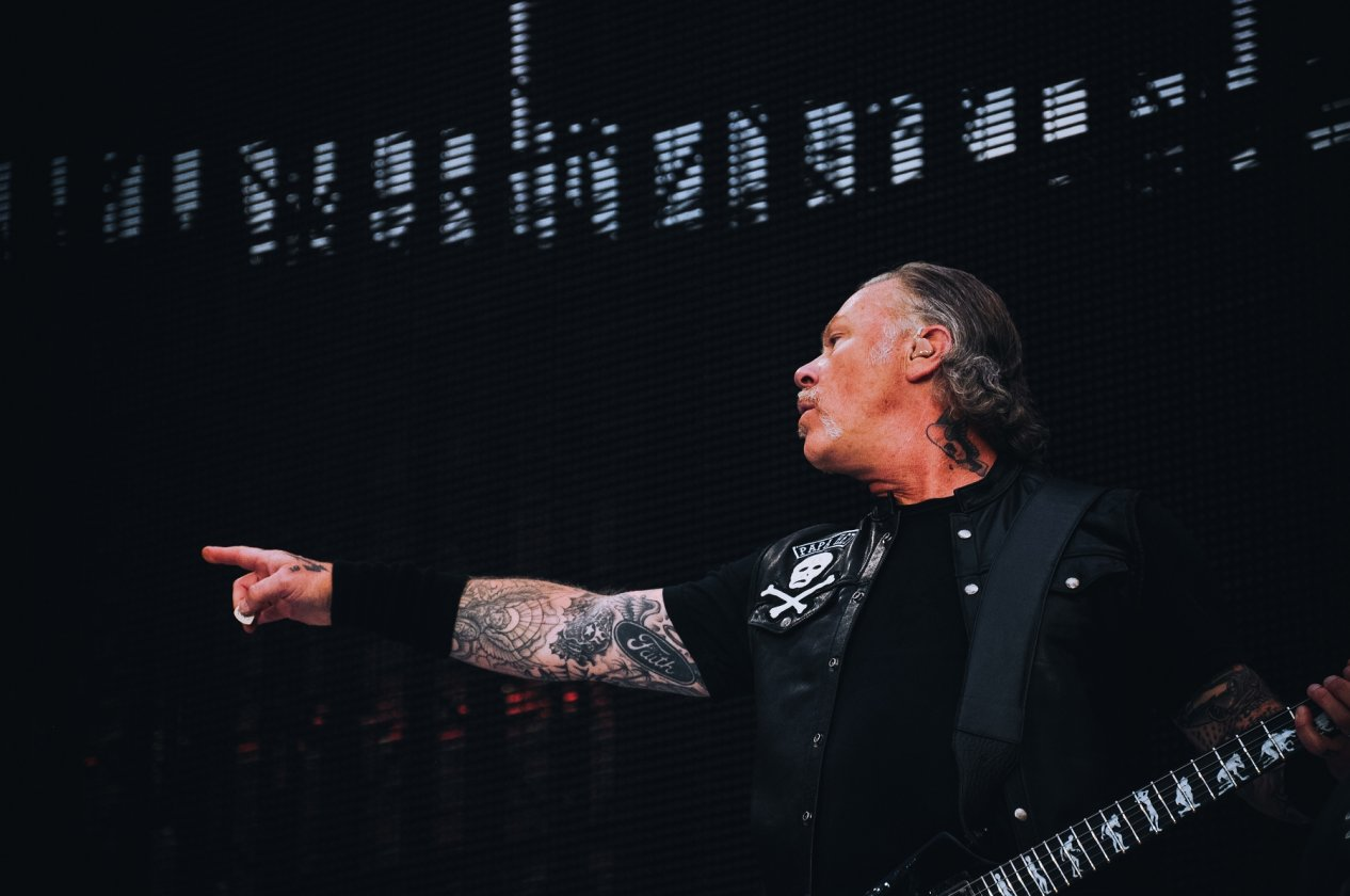Metallica – Europe Awakens! Papa Het and Friends live in Köln. – James Hetfield.
