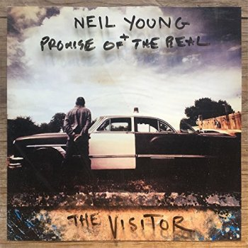 Neil Young - The Visitor Artwork