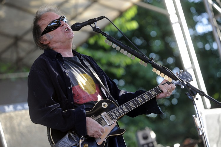 "Neil Young – ""Keep On Rocking In A Free World"" lautet das Motto."