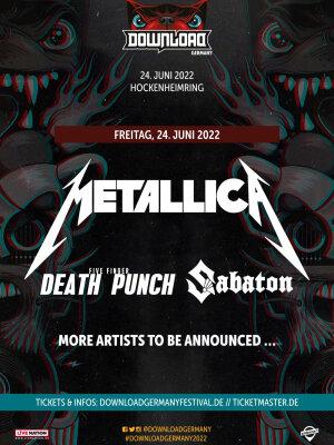 Download Festival: Deutschland-Premiere mit Metallica – laut.de – News