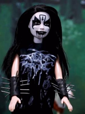 Metalsplitter Black Metal Barbies Und Corpsepaint Eier