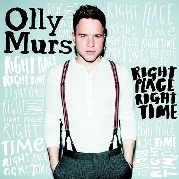 Olly Murs - Right Place Right Time Artwork
