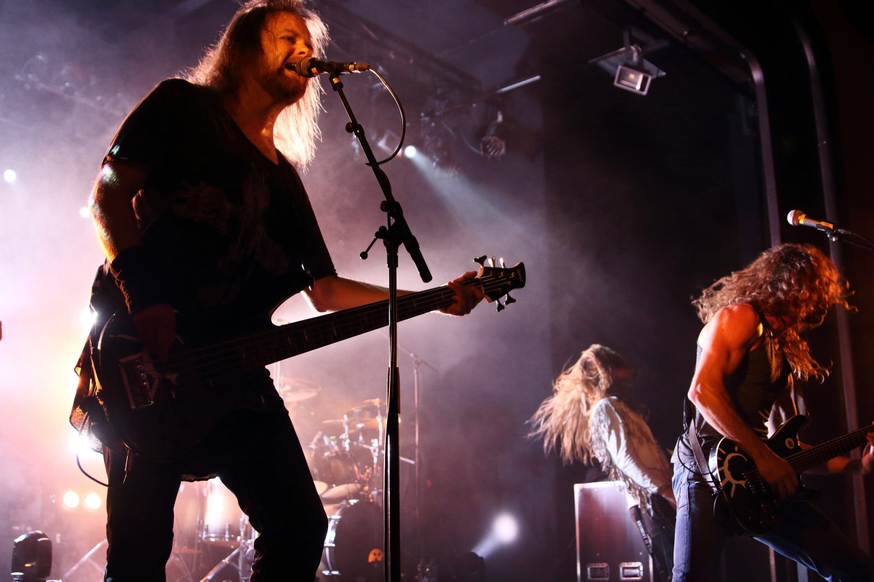Auf 'In The Passing Light Of Day'-Tour mit Port Noir. – Pain Of Salvation.